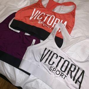 VICTORIA SPORT The Player sports bras (3)